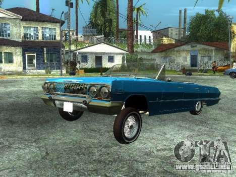 Chevrolet Impala 1964 (Lowrider) para GTA San Andreas