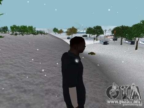 Snow MOD 2012-2013 para GTA San Andreas décimo de pantalla