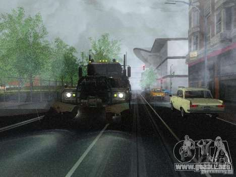 Armored Mack Titan Fuel Truck para la visión correcta GTA San Andreas