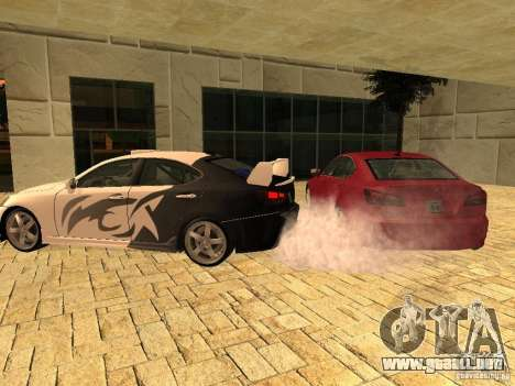 Lexus IS 350 para GTA San Andreas left