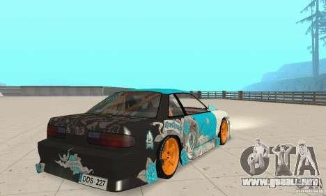 Nissan Silvia S13 NonGrata para GTA San Andreas left