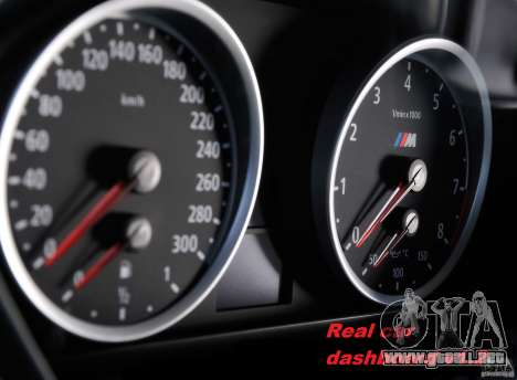 Real Car Dashboard v1.2 para GTA 4