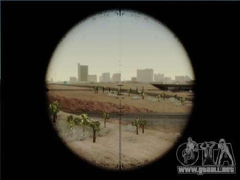 HK PSG 1 para GTA San Andreas quinta pantalla
