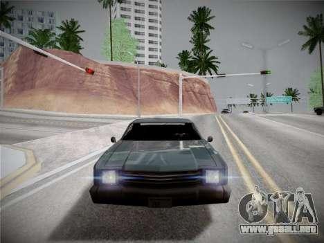 ENBSeries by Treavor V2 White edition para GTA San Andreas segunda pantalla