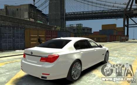 BMW ActiveHybrid 7 2010 para GTA 4 visión correcta