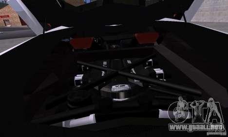 Lamborghini Aventador LP700-4 Final para GTA San Andreas vista hacia atrás