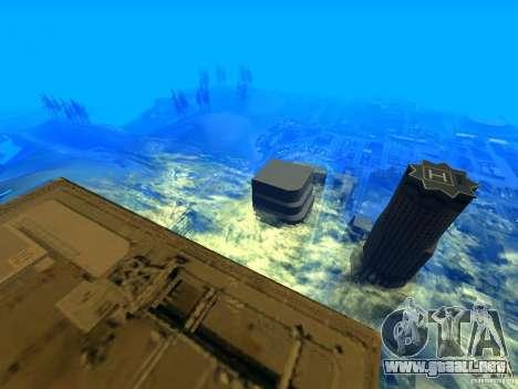 Ángulo de la cámara mejorada V2 para GTA San Andreas tercera pantalla