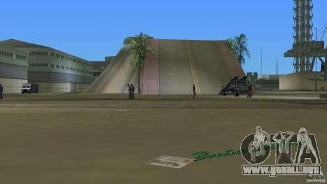 Stunt Dock V1.0 para GTA Vice City segunda pantalla