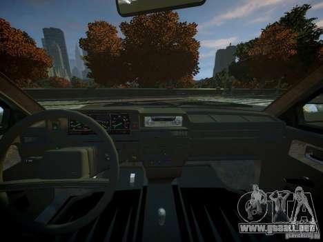 VAZ 2109 para GTA 4 visión correcta