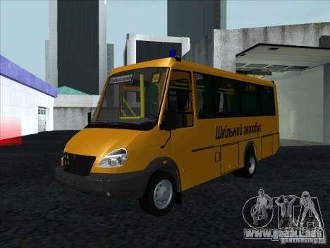 Golaz 3207 para visión interna GTA San Andreas