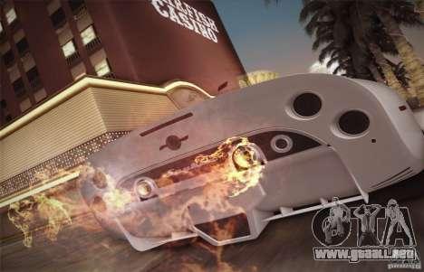 Spyker C8 Aileron para GTA San Andreas interior