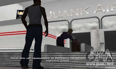 Crack para la versión de vapor del GTA San Andre para GTA San Andreas sucesivamente de pantalla
