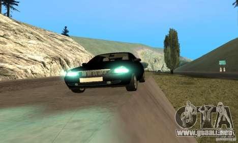 Camioneta LADA priora para GTA San Andreas vista hacia atrás