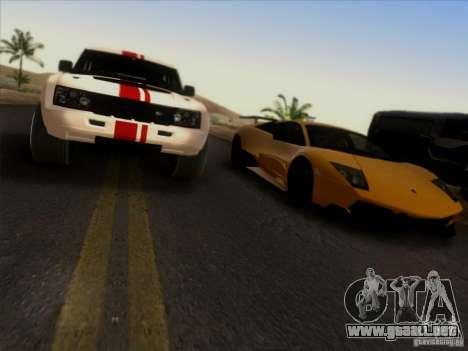 Bowler EXR S 2012 para visión interna GTA San Andreas