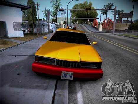 Sentinel Taxi para GTA San Andreas left