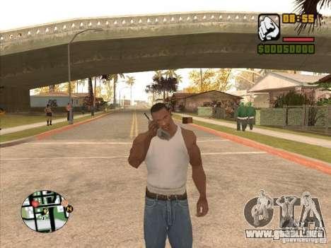 Call the Police para GTA San Andreas segunda pantalla