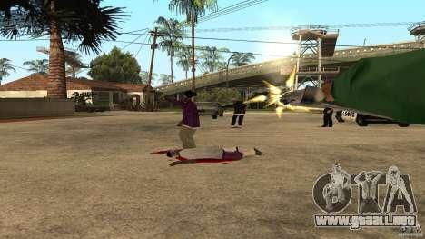 El Grove Street fue atacado por Ballas para GTA San Andreas sucesivamente de pantalla