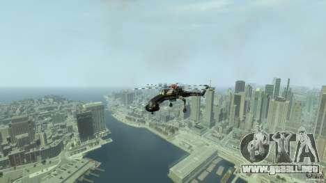 Liberty Sky-lift para GTA 4 vista interior