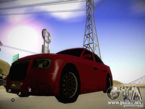 Chrysler 300C para GTA San Andreas left