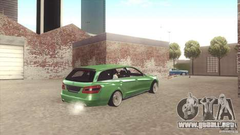 Mercedes-Benz E-Class Estate S212 para visión interna GTA San Andreas