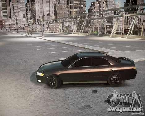 Toyota Mark II Tourer V para GTA 4 Vista posterior izquierda