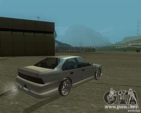 Nissan Cefiro A31 (D1GP) para GTA San Andreas left