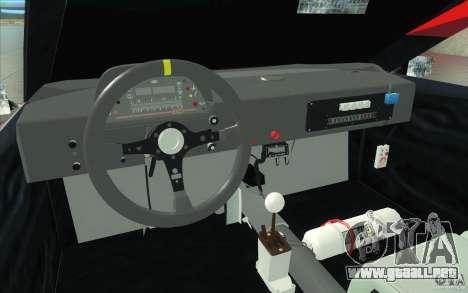 Forsage para visión interna GTA San Andreas