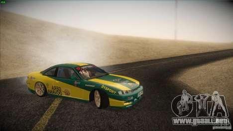Nissan S14 para vista lateral GTA San Andreas