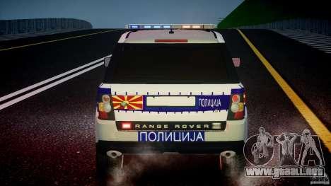Range Rover Macedonian Police [ELS] para GTA motor 4