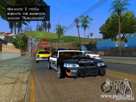 San-Fierro Sultan Copcar para GTA San Andreas