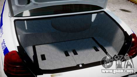 Ford Crown Victoria NYPD para GTA 4 vista lateral