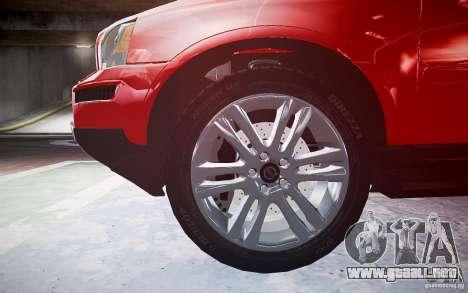 Volvo XC 90 para GTA 4 vista lateral