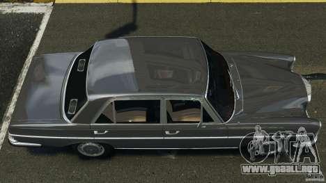 Mercedes-Benz 300Sel 1971 v1.0 para GTA 4 visión correcta