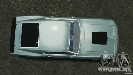 Ford Mustang Boss 429 para GTA 4 visión correcta