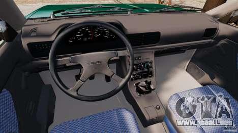 Daewoo-FSO Polonez Caro Plus 1.6 GSI 1998 Final para GTA 4 Vista posterior izquierda