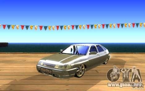 VAZ-2112 LT para visión interna GTA San Andreas