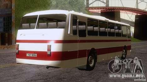 LAZ 699R 93-98 piel 1 para GTA San Andreas vista hacia atrás