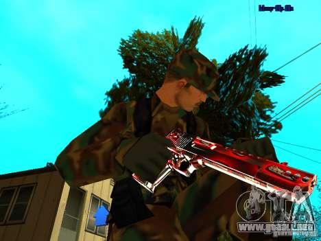 Trollface weapons pack para GTA San Andreas