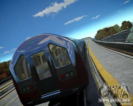 Tren de Londres para GTA 4 tercera pantalla