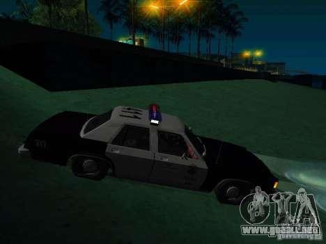 Ford Crown Victoria LTD 1992 SFPD para la visión correcta GTA San Andreas