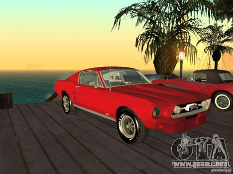 Ford Mustang 67 Custom para GTA San Andreas