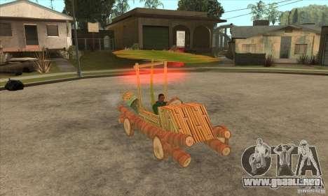 New Police Madagascar para GTA San Andreas vista hacia atrás