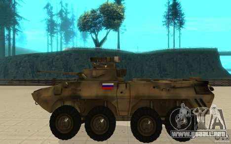 BTR-90 para GTA San Andreas left