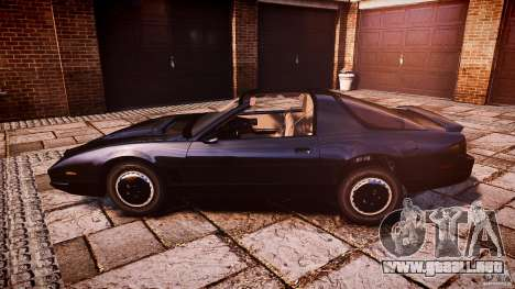 KITT Knight Rider para GTA 4 left