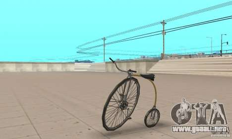 Penny-Farthing Ordinary Bicycle para GTA San Andreas