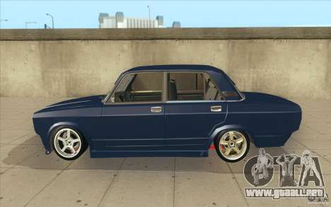 Lada VAZ-2107 calle Drift Tuned para GTA San Andreas left