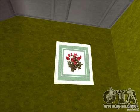 New Interior of CJs House para GTA San Andreas quinta pantalla