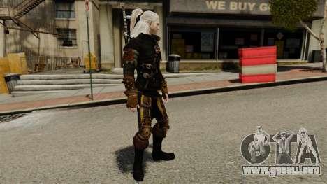 Geralt de Rivia v3 para GTA 4 segundos de pantalla