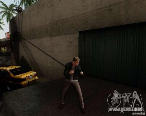 Daniel Craig para GTA San Andreas segunda pantalla