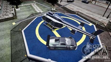 Gumpert Apollo Sport v1 2010 para GTA 4 vista desde abajo